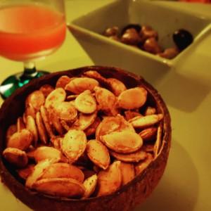 Graines de potiron toastées aux épices Paléo