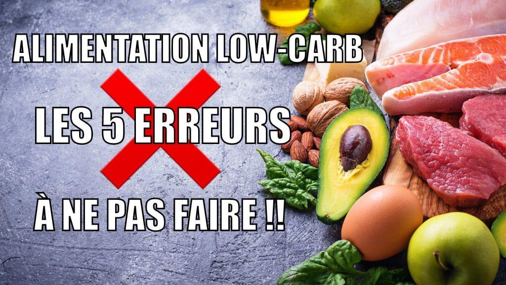 Alimentation low-carb