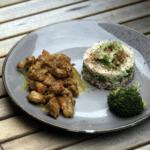 Recette Paléo poulet curry cannelle