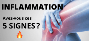 Inflammation : 5 signes