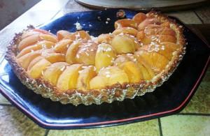 La tarte à l'abricot de Julie V.
