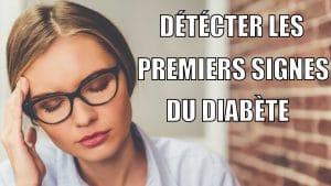 Quels sont les premiers signes du diabète