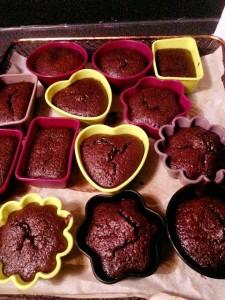 Les petits muffins au chocolat de Lepéï D.