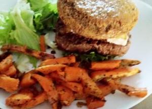 Le burger Paléo de Lili B.