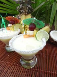La Paléo Colada ! La Piña Colada sans alcool