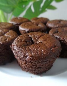 Petits muffins au chocolat Paléo