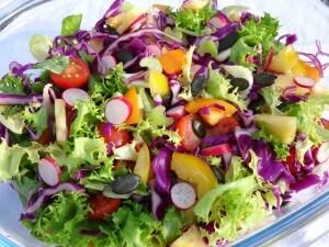 Salade Paléo folle et croquante