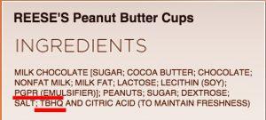 chocolat noir : PGPR substitue chimique !