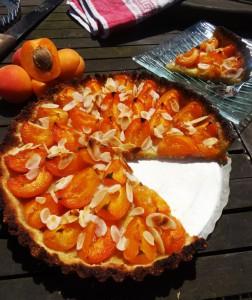Tarte à l'abricot Paléo