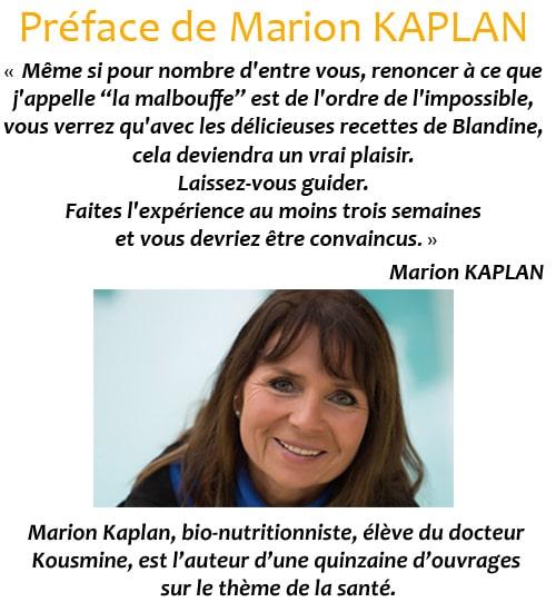 Préface de Marion KAPLAN