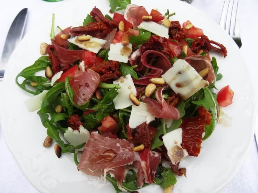 régime paléo recettes : salade à l'italienne