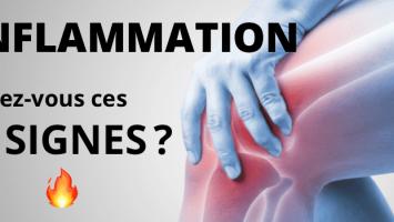 Inflammation : 5 signes