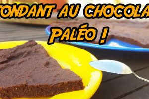 Fondant au chocolat Paléo