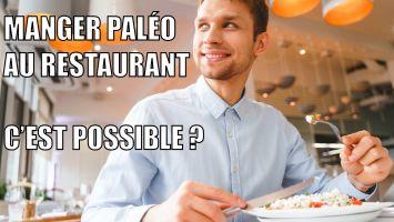 manger paléo au restaurant
