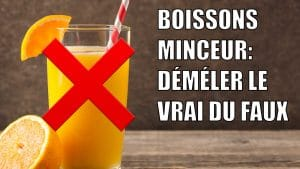 boissons minceur