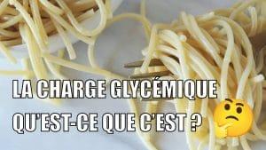 charge glycémique des aliments