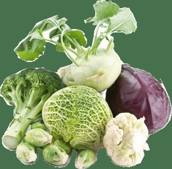 les légumes vert pour le foie