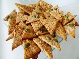 Crackers Paléo croustillants et savoureux