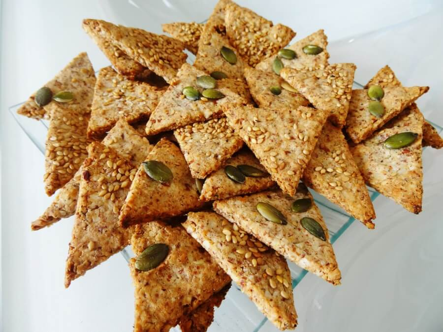 Gateau aperitif triangle