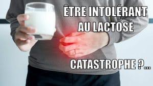 être intolérant au lactose