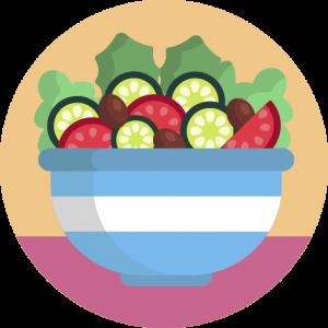 pictogramme Les aliments du régime paléo