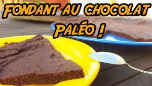 Recette du fondant au chocolat Paléo