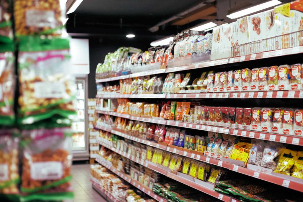 étiquette produit alimentaire