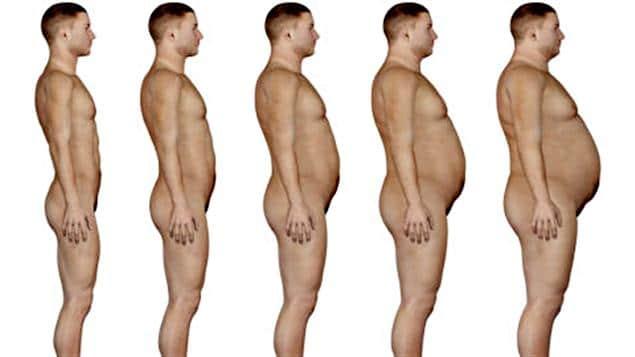 obesité chez l'homme