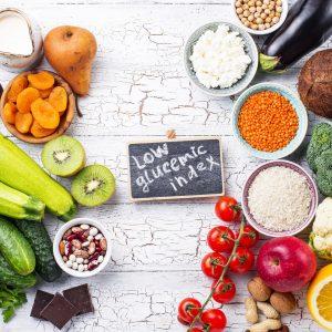 Aliments à indice glycémique bas