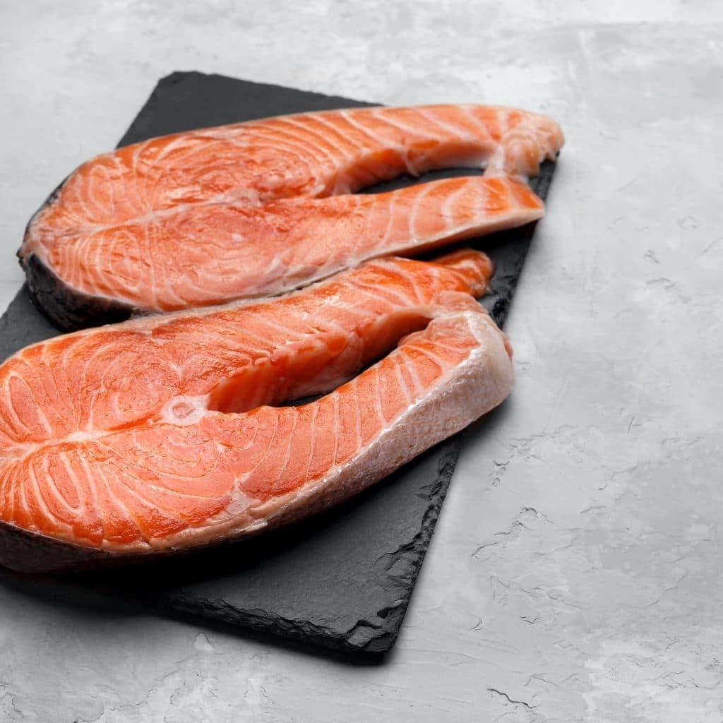 saumon poisson gras