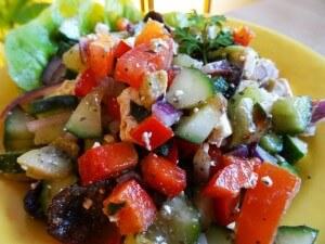 Salade grecque Paléo